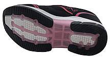 Детские текстильные кроссовки 73ROSESHNUR26 р. 28 Черный с розовым, фото 3