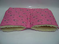 Муфта для рук из меха для детской коляски и санок