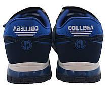 Детские текстильные кроссовки 73BLUESHNUR31 р. 32, 33, 34, 35 Синий, фото 2