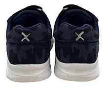 Детские текстильные кроссовки 73MILITARI р. 31, 32, 34 Темно - синий, фото 2