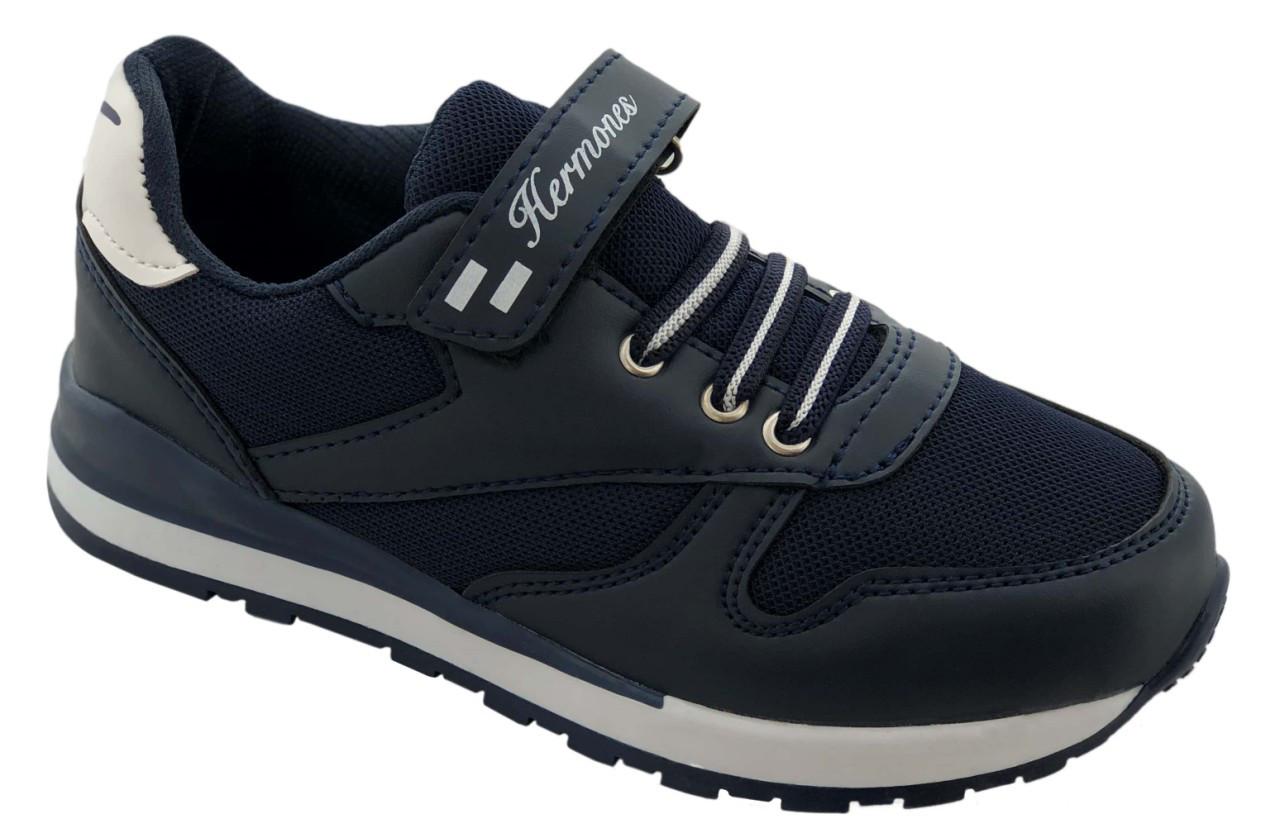 Детские текстильные кроссовки 73DARKBLUE р. 33 Темно-синий
