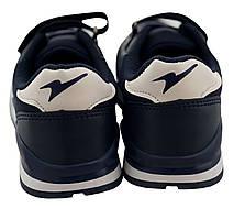 Детские текстильные кроссовки 73DARKBLUE р. 33 Темно-синий, фото 2