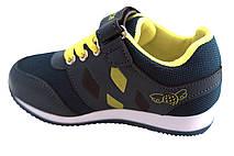 Детские текстильные кроссовки 73SMALLGREEN р. 21, 22, 23, 25 Зеленый с желтым, фото 3