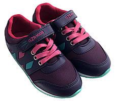 Детские текстильные кроссовки 73SMALLFIOLET Фиолетовый, фото 2