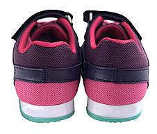 Детские текстильные кроссовки 73SMALLFIOLET Фиолетовый, фото 3