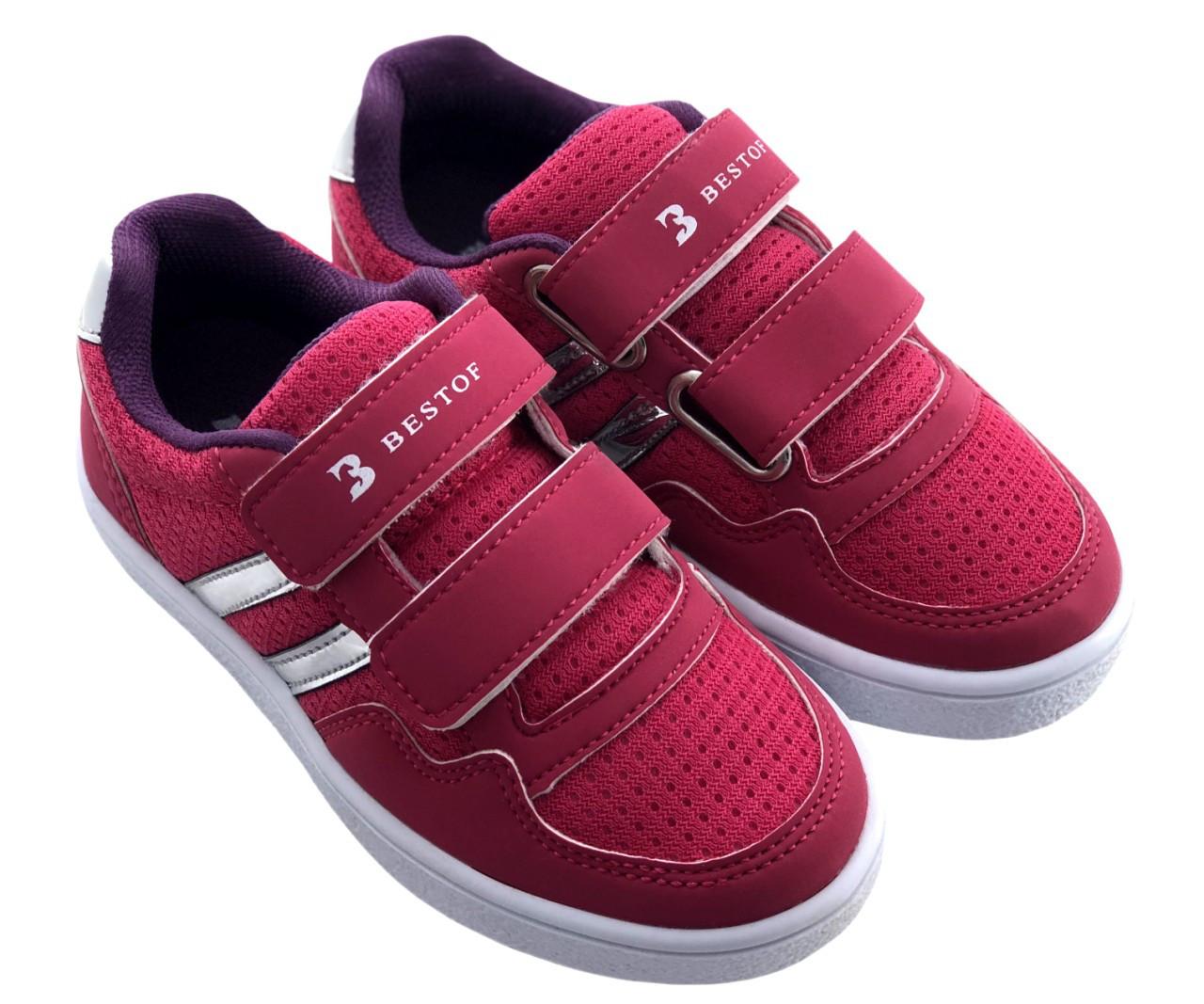 Детские текстильные кроссовки 73KEDMALINA р. 33 Малиновый
