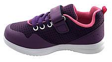 Детские текстильные кроссовки 73FIOLET Фиолетовый, фото 3