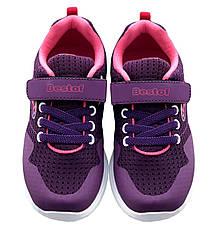 Детские текстильные кроссовки 73FIOLET Фиолетовый, фото 2
