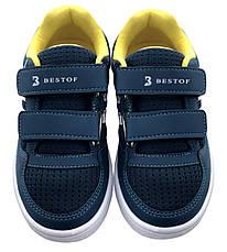 Детские текстильные кроссовки 73KEDBIRUZA р. 26, 27, 28, 29 Бирюза, фото 2