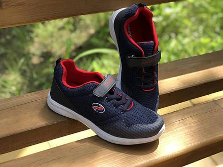 Детские текстильные кроссовки 73SINIY р. 34 Синий, фото 2