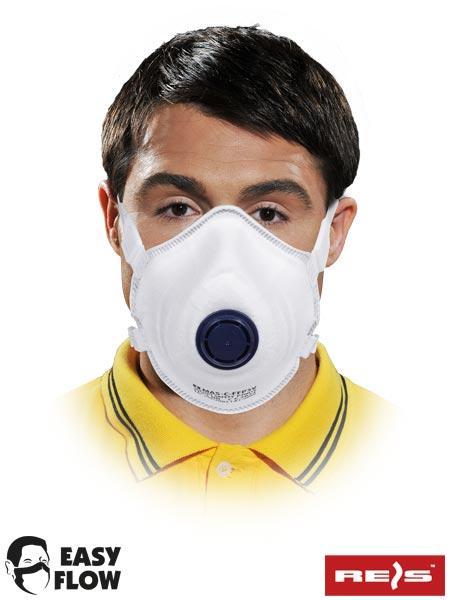 Пилозахисна маска з клапаном MAS-C-W FFP3V