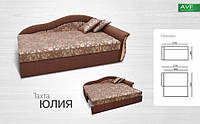 Диван Юлия  (пружинный блок + ламель)