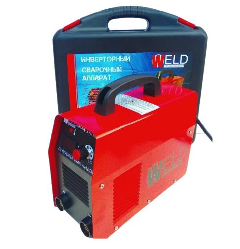 Зварювання інверторна Weld 370 (колишній 330) в кейсі з електронним табло