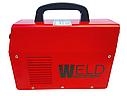 Зварювання інверторна Weld 370 (колишній 330) в кейсі з електронним табло, фото 4
