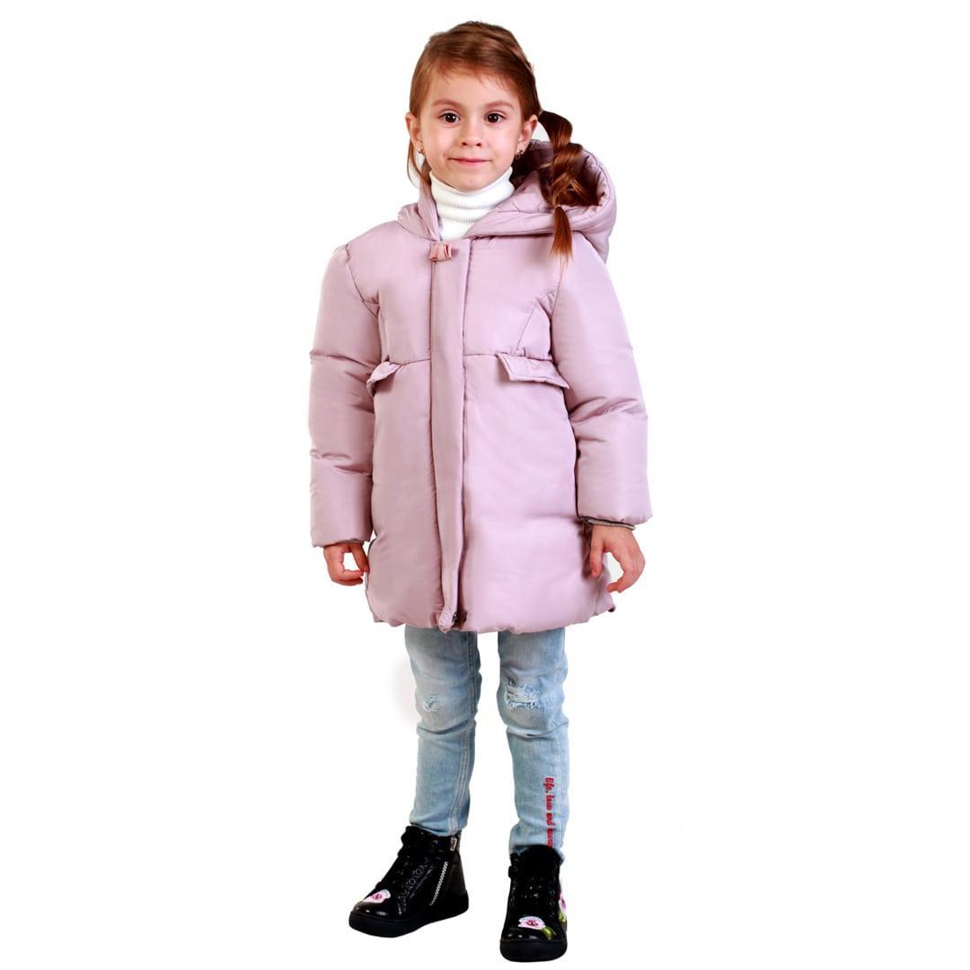 Детская демисезонная куртка для девочки 45SIREN Сиреневый