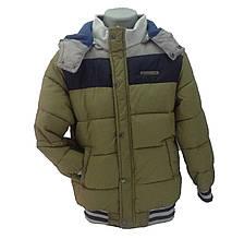Детская демисезонная куртка мальчику 66XAKI Хаки