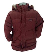Детская демисезонная куртка для мальчика 237BRAUN Коричневый