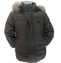 Детская демисезонная куртка для мальчика 237XAKI Хаки