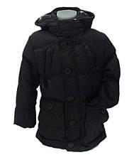 Детская демисезонная куртка для мальчика 237BLACK Черный