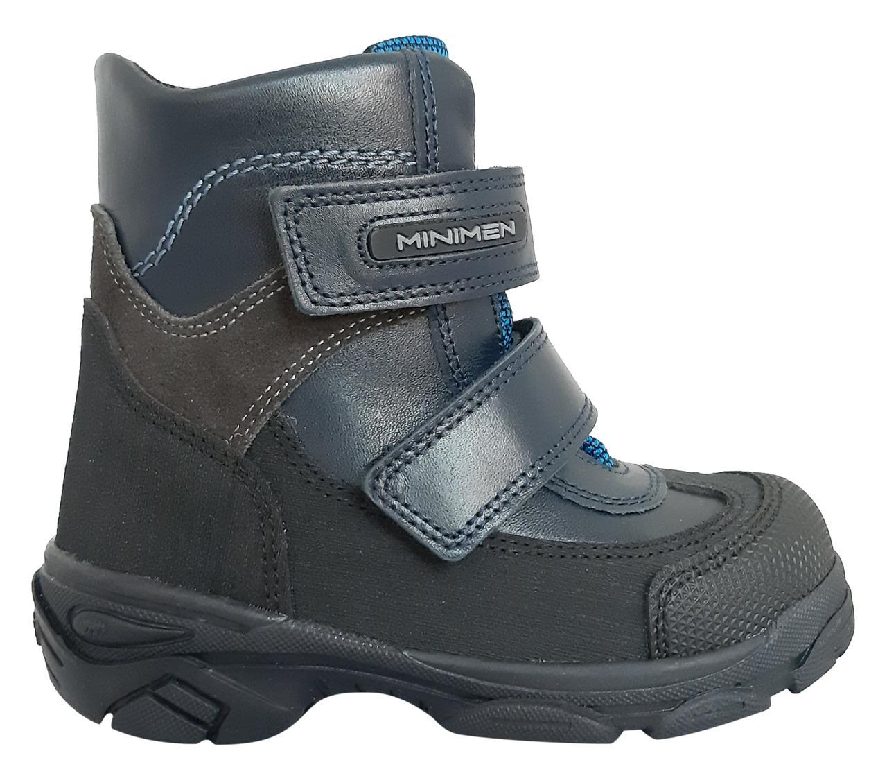 Ботинки Minimen 15GOLYAZ Темно-синий