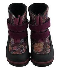 Ботинки Minimen 15VALEVKI Бордо, фото 2