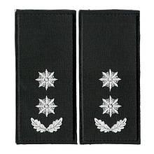 Погон Підполковник поліції на липучці (1шт) 9921