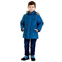 Детская демисезонная куртка для мальчика 237BIRYZOVYY Бирюзовый