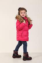 Детская зимняя куртка для девочки 235KRASNAY Красный