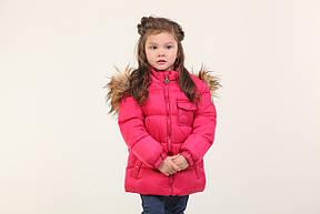Детская зимняя куртка для девочки 235KRASNAY Красный, фото 2