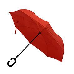 Зонт-трость WONDER, обратное складывание, механический 45450 Красный