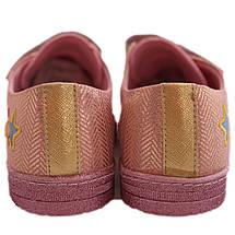 Текстильные кеды 72ROSEZOLOTO Розовые с золотом, фото 2