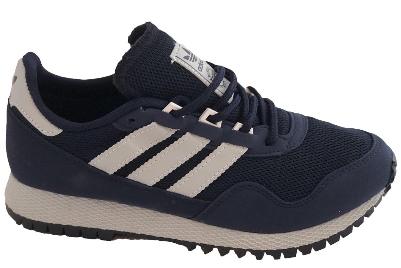 Детские текстильные кроссовки 70ADIDAS Синий
