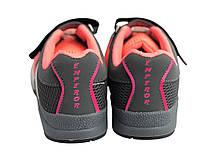 Детские текстильные кроссовки 73EMPEROR Розовый с серым, фото 3