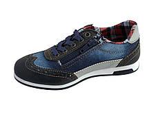 Текстильные кроссовки 73DJEANS Синий джинс, фото 2