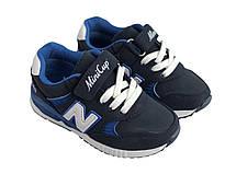 Детские текстильные кроссовки 73SINIYMINI Синий, фото 2