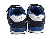 Детские текстильные кроссовки 73SINIYMINI Синий, фото 3