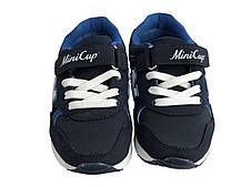 Детские текстильные кроссовки 73SINIYMMAXI Синий, фото 3