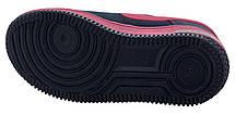 Детские текстильные кроссовки 73ROSE Синий с розовым, фото 3