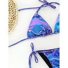 Раздельный купальник бикини хамелеон - 154-24, фото 2