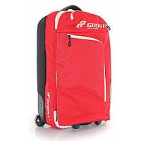 Сумка дорожня Ghost Travel Bag ri-red/st-wht 40+5L