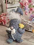 Яйцо пасхальное Кролик, Н-18-20 см, 125/95 грн,(за 1 шт + 30 грн) подвеска на корзину или заготовка для венка., фото 9