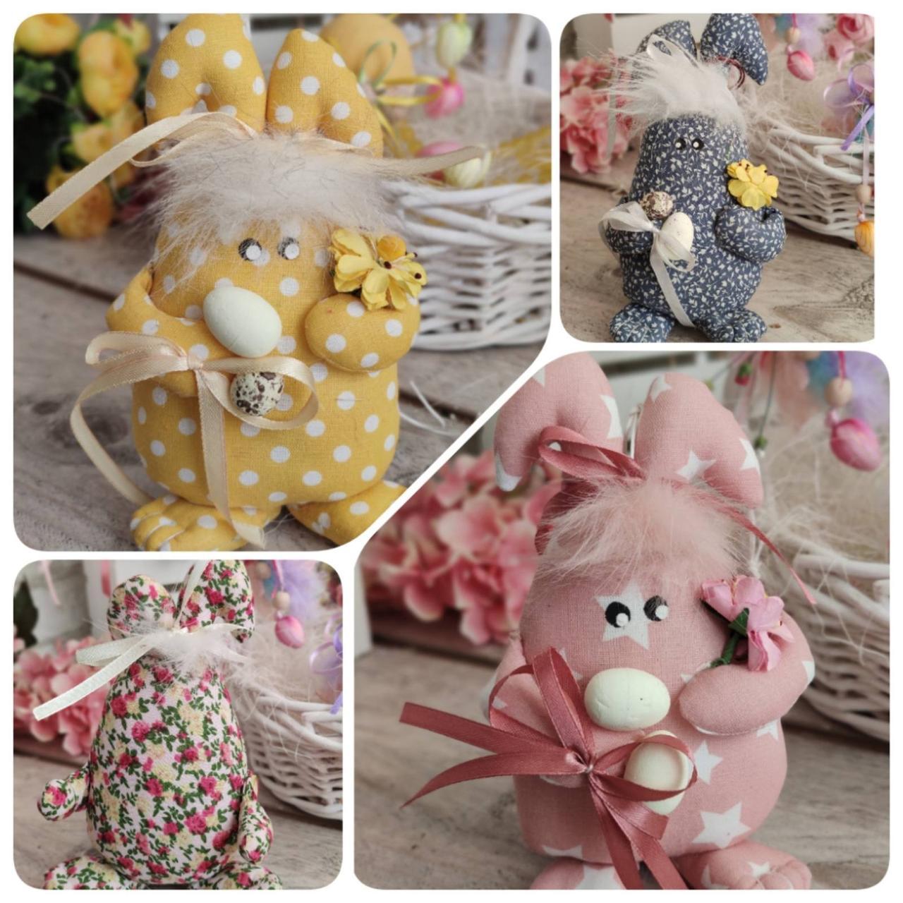 Яйцо пасхальное Кролик, Н-18-20 см, 125/95 грн,(за 1 шт + 30 грн) подвеска на корзину или заготовка для венка.