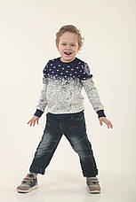 Детский свитер для мальчика 234SINIY Синий, фото 2