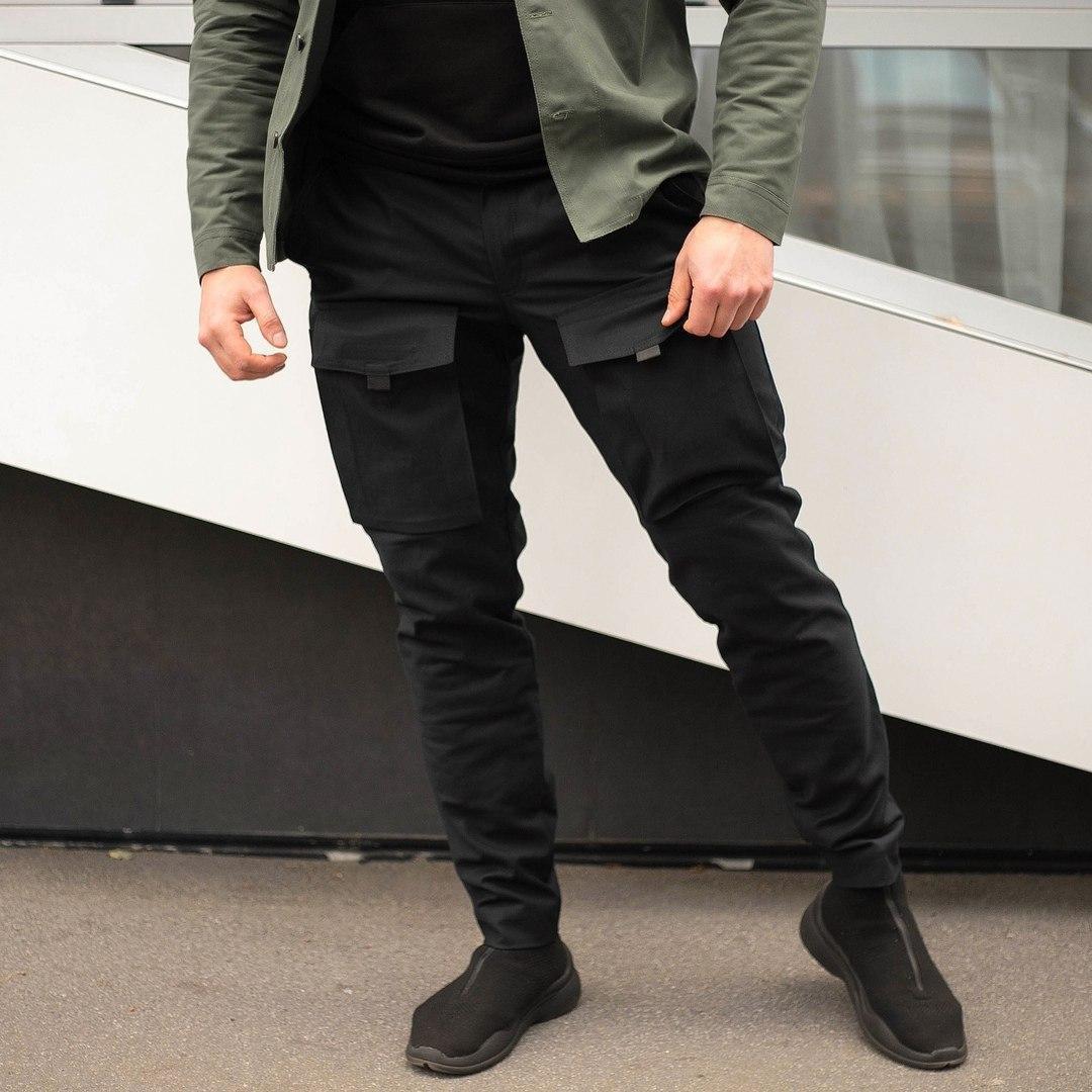 Чоловічі чорні штани Odin(зимові)