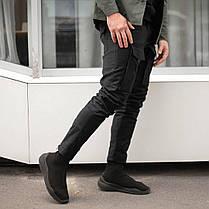 Чоловічі чорні штани Odin(зимові), фото 3
