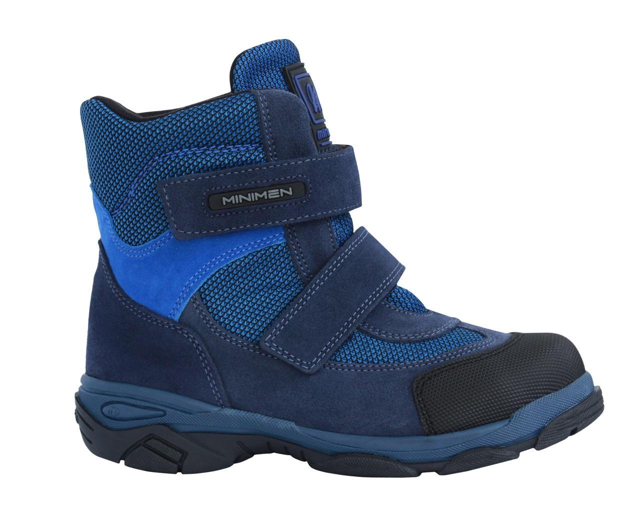 Ботинки Minimen 15GOLUBOY Голубой