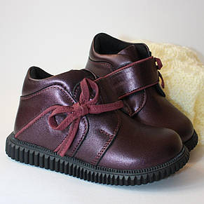 Ботинки Perlina 91BORDOBANT Бордовый, фото 2
