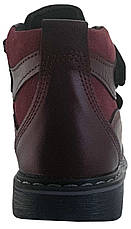 Ботинки Perlina 91BORDO Бордовый, фото 3