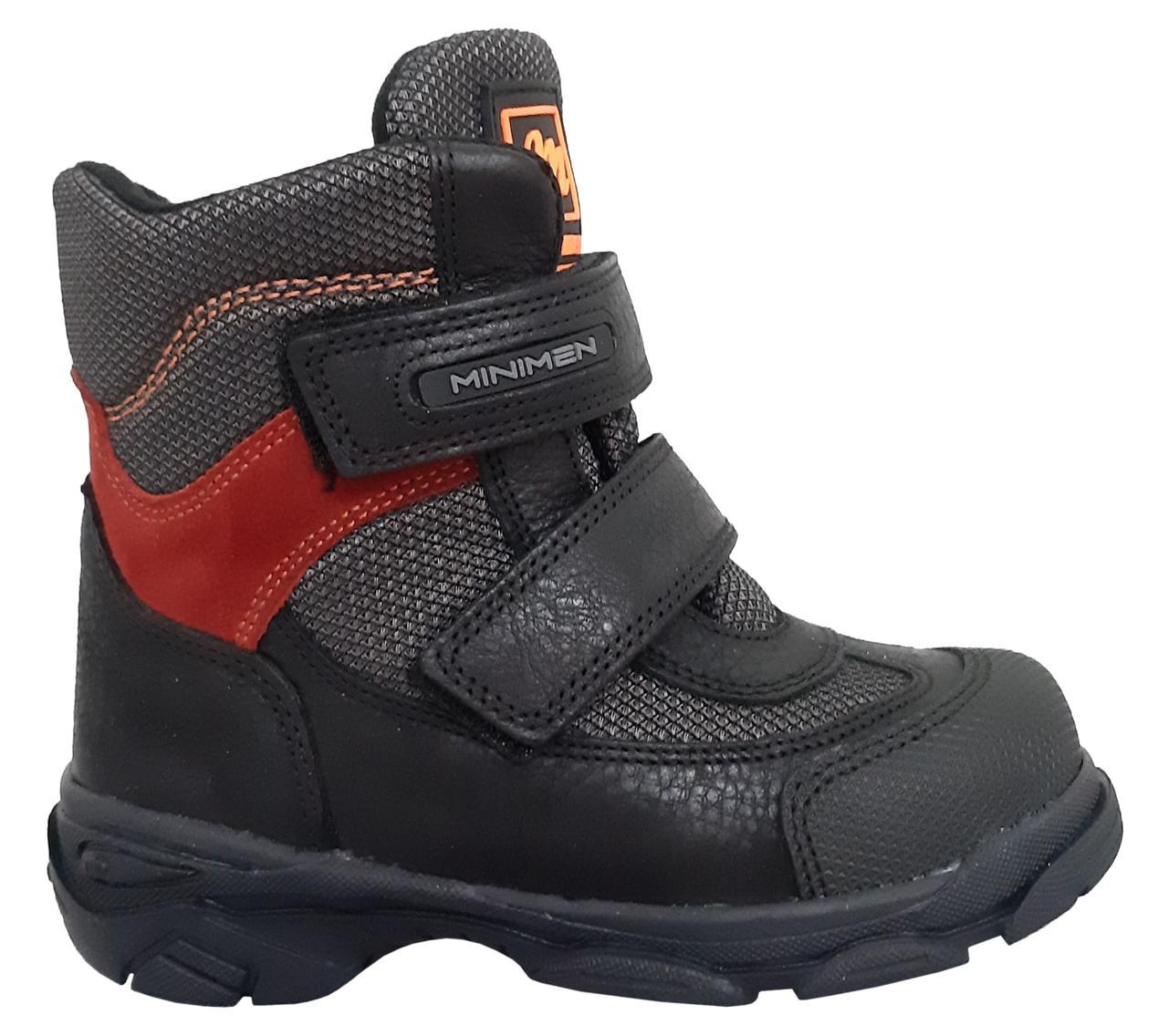 Ботинки Minimen 15BLACK Черный