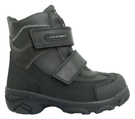 Ботинки Minimen 3BLACK Черный, фото 2